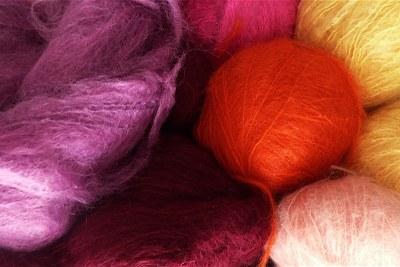 Mohair wool (file photo).