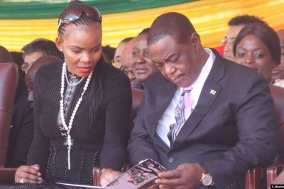 Good old times ... Marry Chiwenga and Vice President Constantino Chiwenga (file photo).