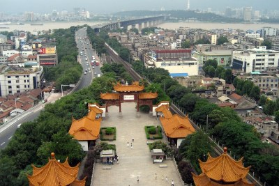 The city of Wuhan (file photo).