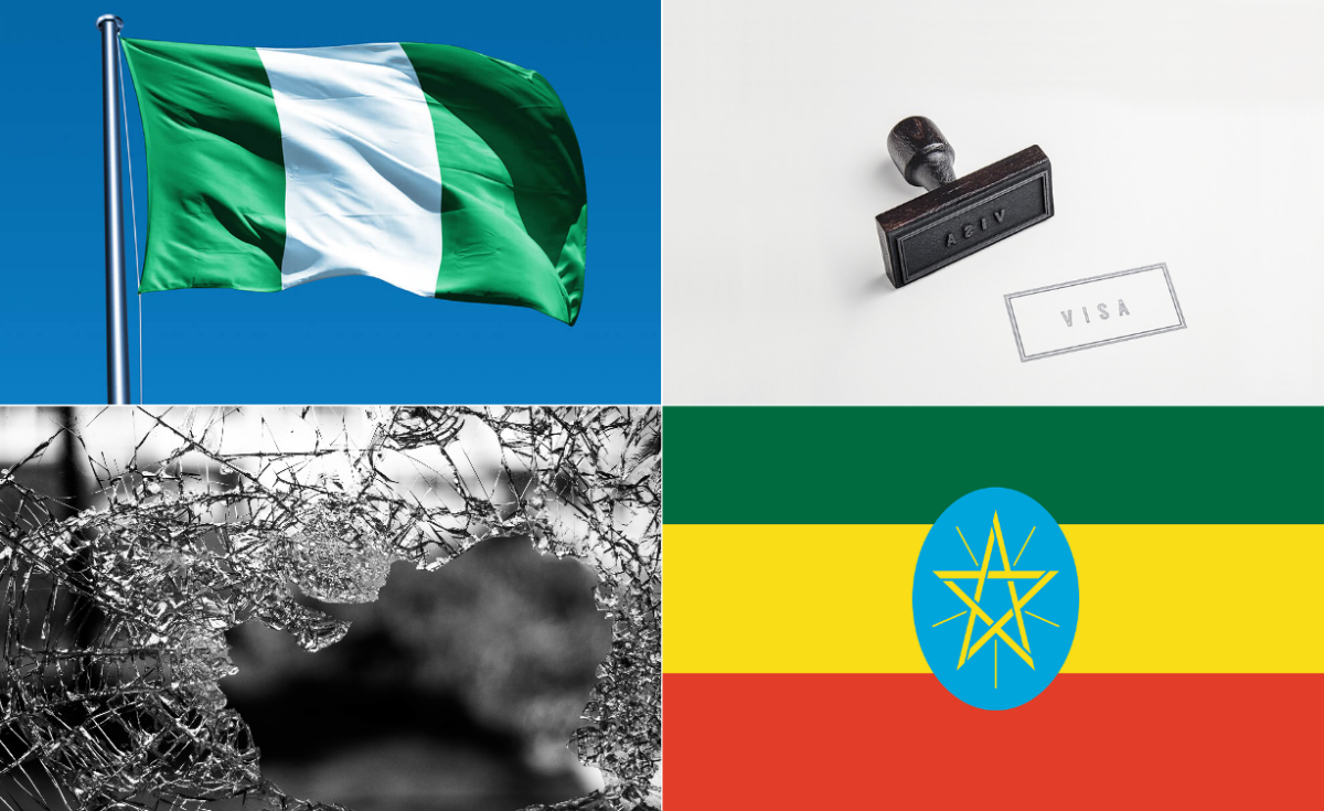 Nigeria, Ethiopia Sign Pact on Visa Waiver, Defence