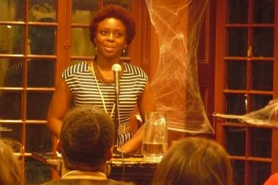 Chimamanda Adichie.