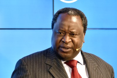 South African Finance Minister Tito Mboweni (file photo).