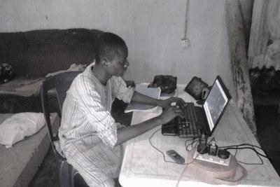 Le travail à domicile devient de plus en plus courant depuis l'épidémie de coronavirus.