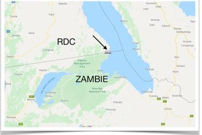 Frontière Zambie-RDC