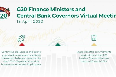 G20 Ministers of Finance and Central Bank Governors met by video conference