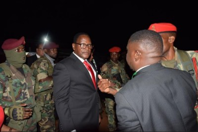 Dr Lazarus Chakwera, Malawi's new president.