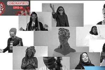 11 artistes s'engagent contre les violences faites aux femmes et filles #StrongerTogether #SWEDD