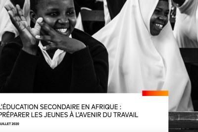 Éducation secondaire en Afrique : Préparer les jeunes à l'avenir du travail