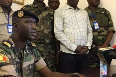 Le Colonel Wagué, porte-parole du CNSP, annonce des modifications dans l'organisation des concertations nationales sur la transition politique au Mali.