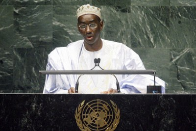 Moctar Ouane, Minister for Foreign Affairs and International Cooperation of the Republic of Mali, addresses the general debate of the sixty-fifth session of the General Assembly on September 28, 2010.