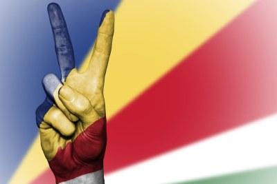 Seychelles flag.