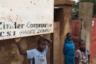 Scène de vie à Zinder, Niger.