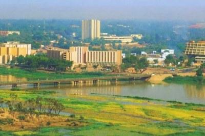 Niamey, the capital of Niger.