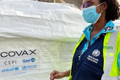 Ghana kicks off Covid-19 vaccination campaign with vaccines from COVAX (file photo).