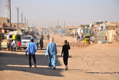 A street in Niger (file photo).