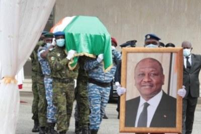 Hamed Bakayoko est décédé le 10 mars, à Friebourg, en Allemagne. Sa dépouille est arrivée le 13 mars, à Abidjan