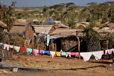 The Shimelba refugee camp in the Tigray region of Ethiopia (file).
