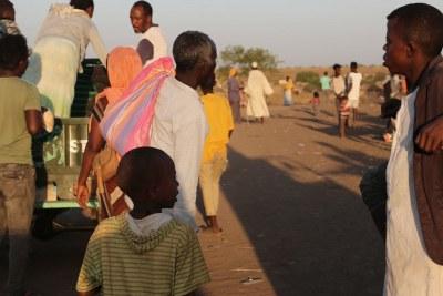 Réfugiés fuyant la violence au Tigray, en Éthiopie (image du fichier)
