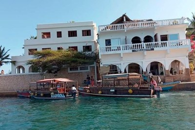 A luxurious hotel within Lamu's Shella Island (file photo).