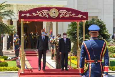 Visite du Chef de l'état en Egypte