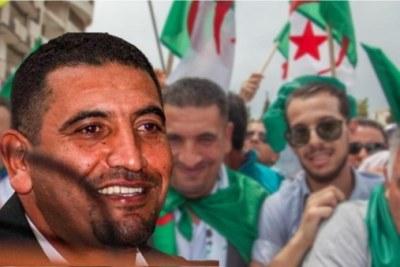 Karim Tabbou, homme politique algérien, figure du Hirak, il est plusieurs fois arrêté et incarcéré en 2019. L'Algérie connaît un acharnement sans précédent contre les militants et les journalistes du Hirak.