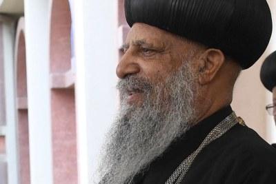 Abune Mathias I, Patriarch of the Ethiopian Orthodox Tewahedo Church.