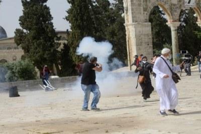 Attaques sionistes de la mosquée Al-Aqsa