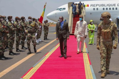 Le colonel Assimi Goita, nouvel homme fort du Mali