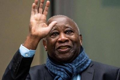 L'ex-chef de l'Etat, Laurent Gbagbo