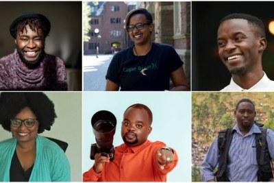 Photographers Jacques Nkinzinabo, Tracy Keza, Gadi Habumugisha, Cyril Ndengeya, Plaisir Muzogeye, and Alice Kayibanda.