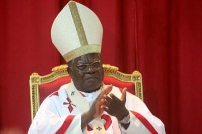 Cardinal Laurent Mosengwo Pasinya.