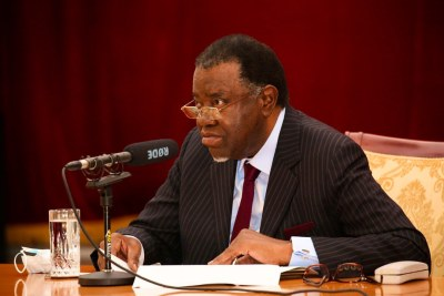 President Geingob: Current Covid-19 regulations are being extended until 31 July 2021.