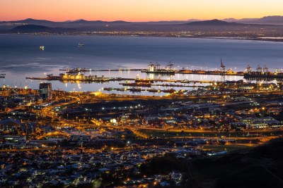 Cape Town harbour in 2018.