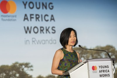 Reeta Roy, Mastercard Foundation CEO and President - Mastercard Foundation Strategy Launch Young Africa Works in Rwanda Thursday, March 22nd, 2018