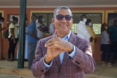 Carlos Vila Nova, président élu de São Tomé et Príncipe.