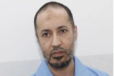 Saadi Kadhafi, l'un des fils de l'ex-chef d'État libyen