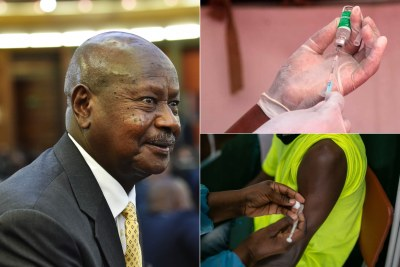 President Yoweri Museveni (file photo).