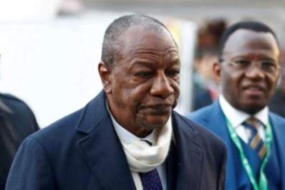 L'ancien président Alpha Condé toujours entre les mains de la junte actuellement au pouvoir en Guinée